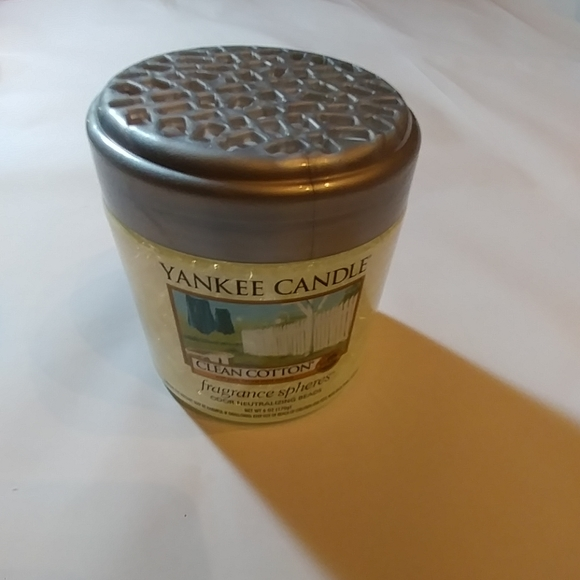 Yankee Candle Fragranced Spheres Clean Cotton